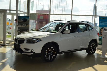 New Brilliance V5 белый
